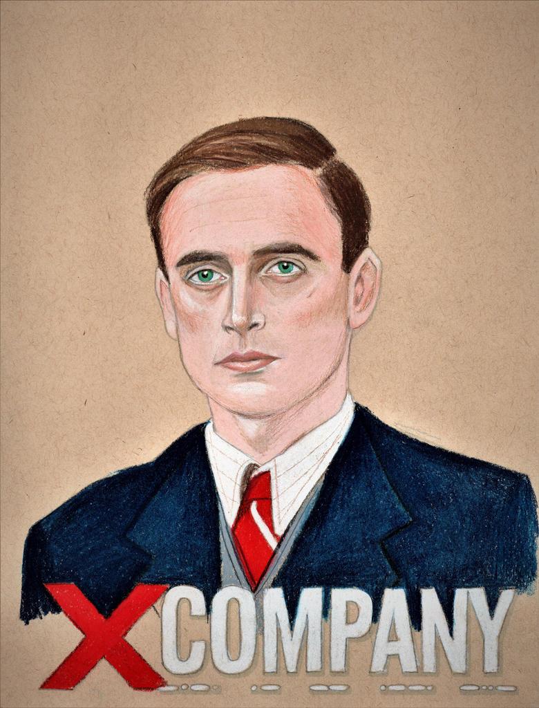 Jack Laskey as Alfred Graves (X Company Drawing) by julesrizz