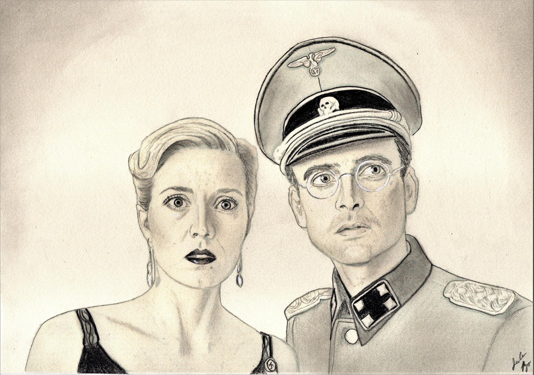 Alfred and Aurora (X Company Drawing) by julesrizz