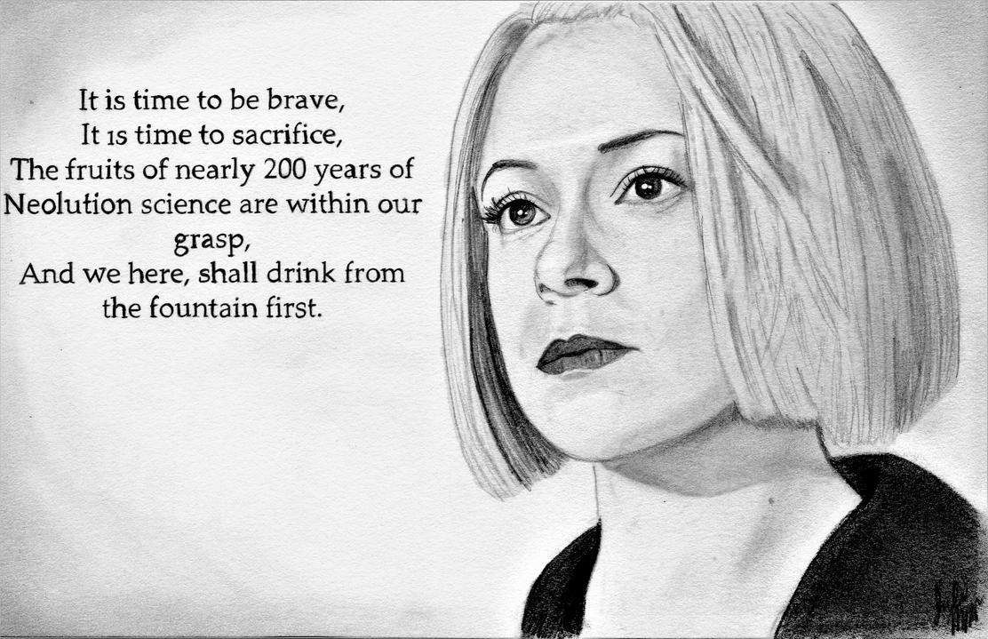 It is Time (Orphan Black Graphite Drawing) by julesrizz