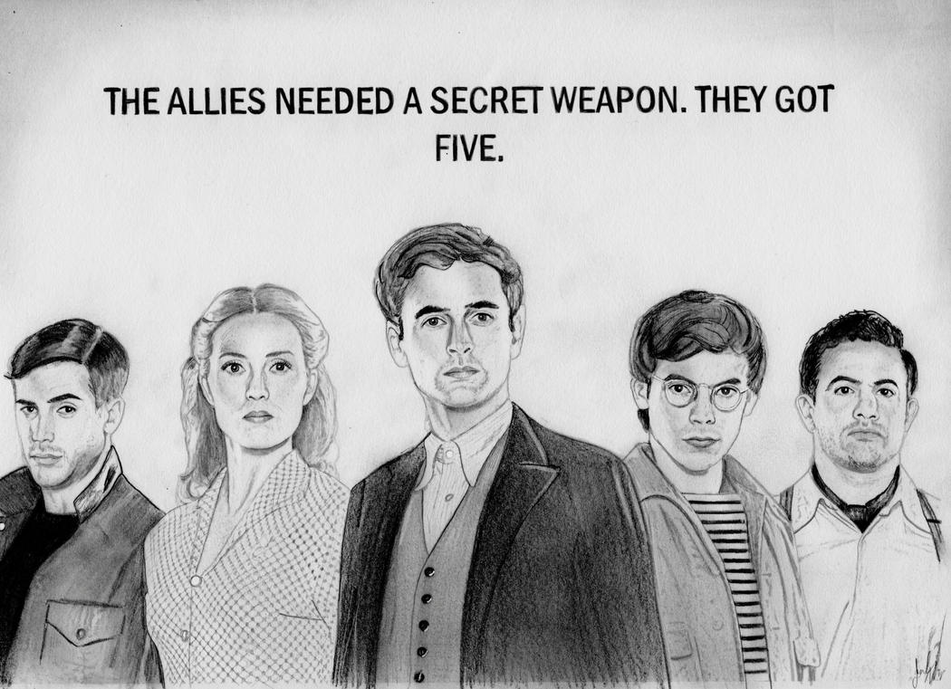The Team (X Company Drawing) by julesrizz