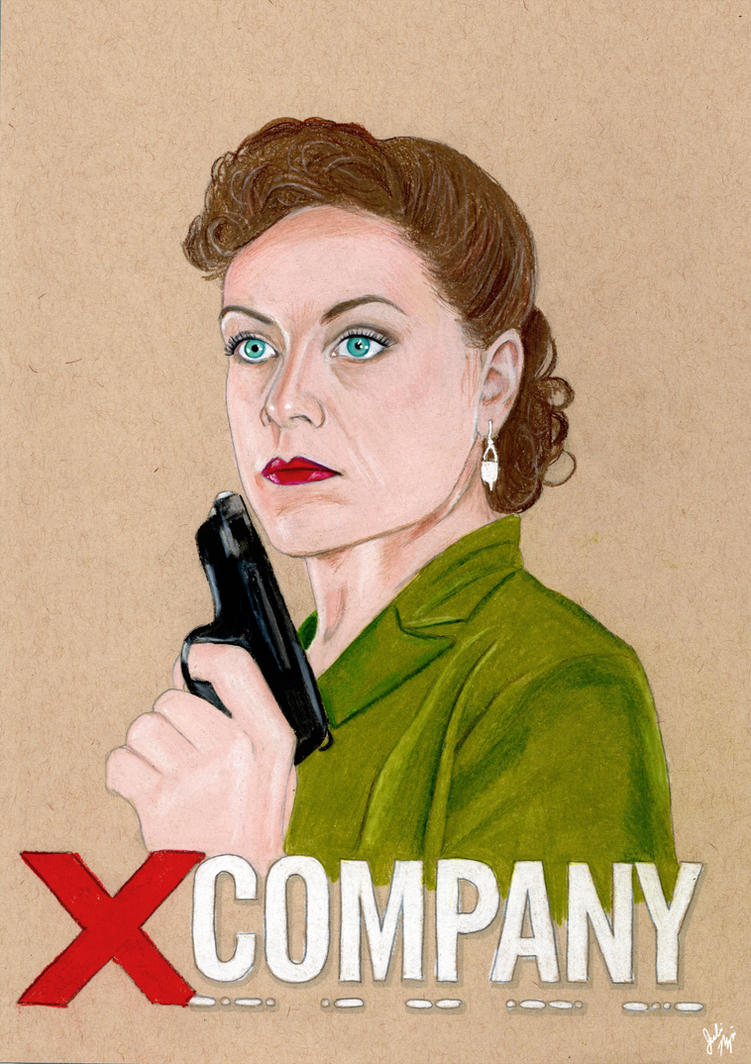 Heidi Adler (X Company Drawing) by julesrizz