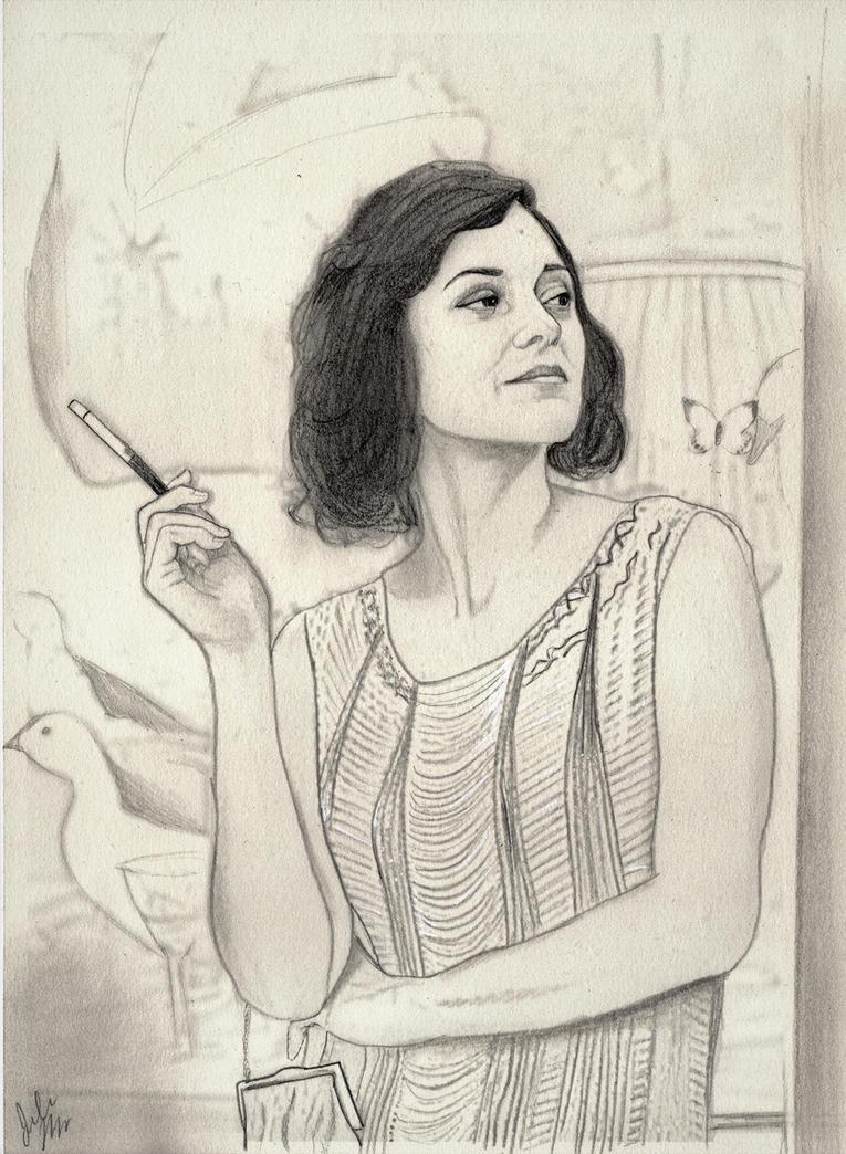 Marion Cotillard as Adriana by julesrizz