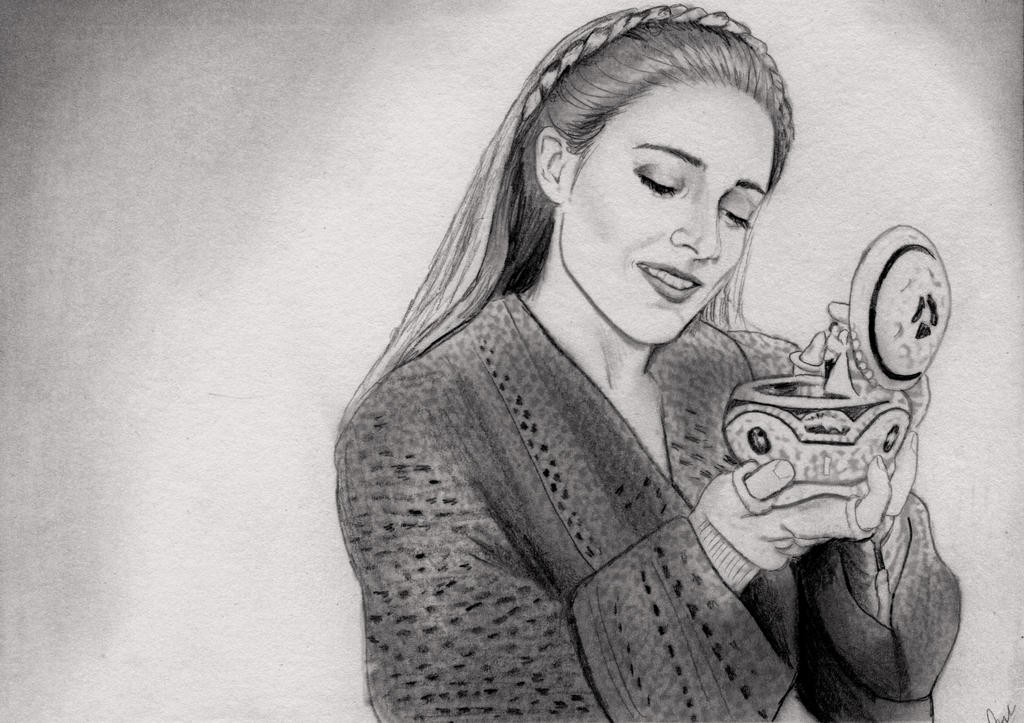 Once Upon a December (Graphite Drawing) by julesrizz