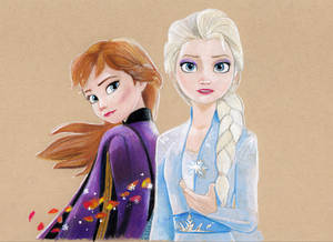 Frozen 2 (Colored Pencil Drawing)