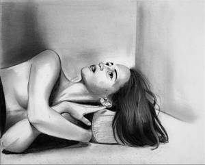 Alicia Vikander Graphite Drawing