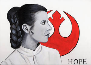 Hope (Princess Leia Painting)