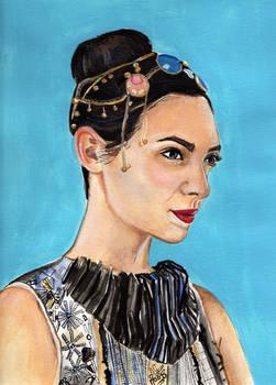 Gal Gadot (Watercolor)