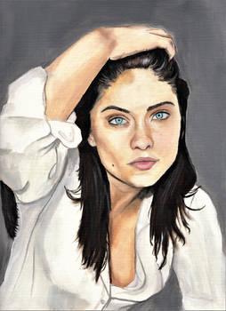 Jodi Lyn O'Keefe (Oil Painting)