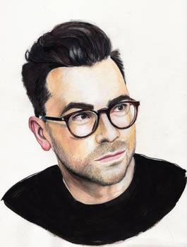 Dan Levy (Colored Pencil Portrait)