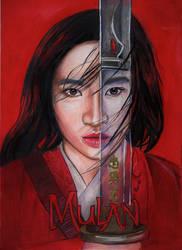 Disney's Mulan (Colored Pencil Drawing)