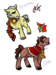 Skies Ponies 2 by Wind21