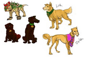 Smash dogs 1 by Wind21