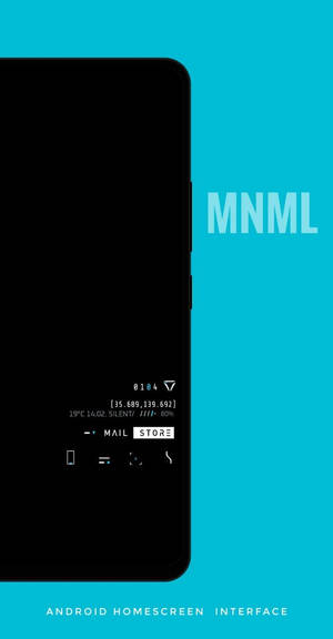 Mnml interface for Android