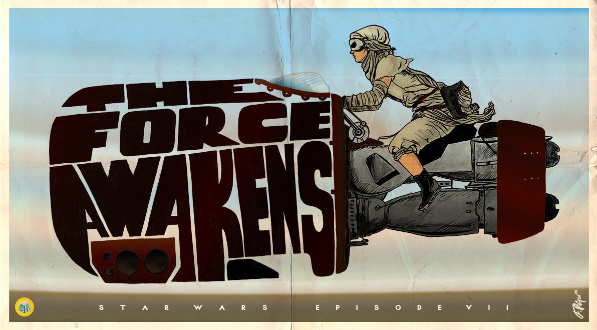 Star Wars Episode VII: The Force Awakens by HanzSolo