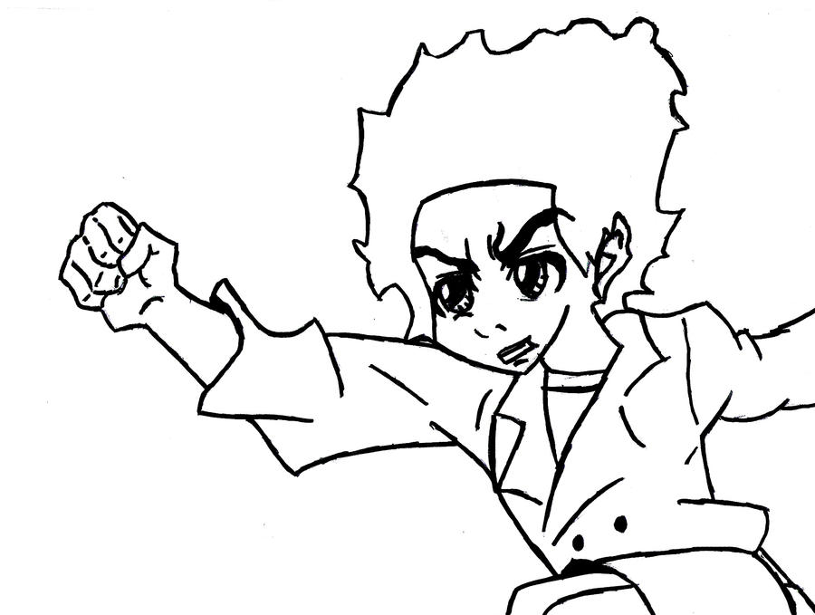 the boondocks riley coloring pages - photo#20