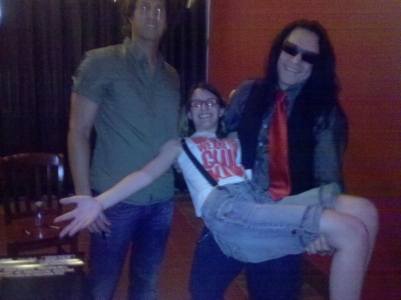 ::TOMMY WISEAU HELD ME:: by motherofsephy