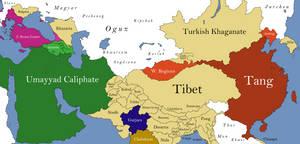 Asia 695 CE