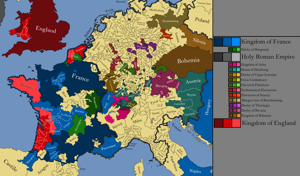 Western Europe By OllieBye On DeviantArt - Western europe