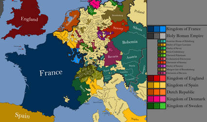 Western Europe 1678