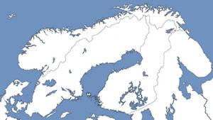 Northern Europe - Blank