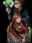 Anti-Mabel x Evil Morty