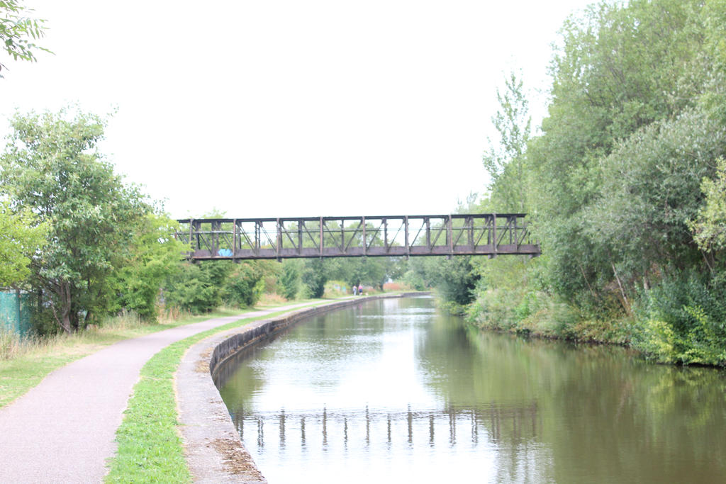 View of a bridge over the canal by Armstrongy85