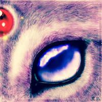 Espeon's eye by grechin57689