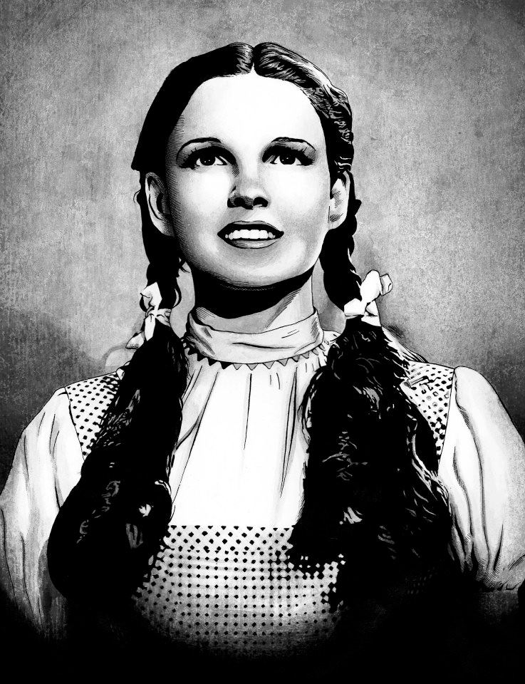 Judy Garland as Dorothy by JESUSMORALES on DeviantArt