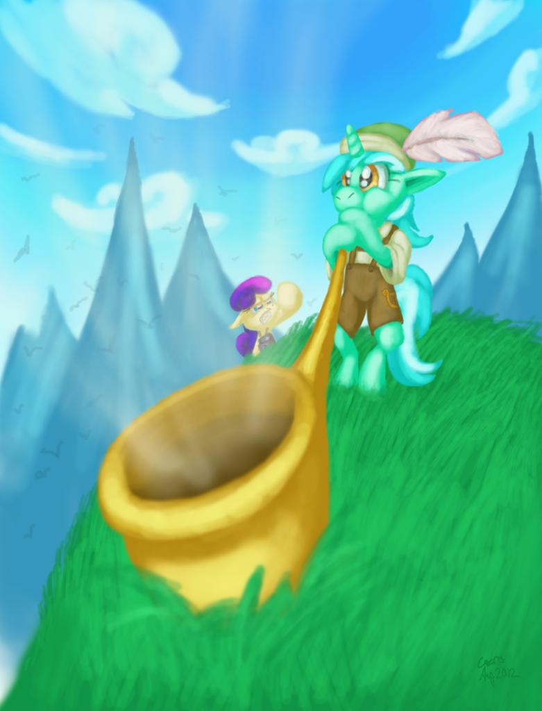 Lyra-hosen by Cazra