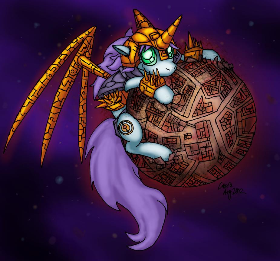 Unicorn - Devourer of Worlds by Cazra