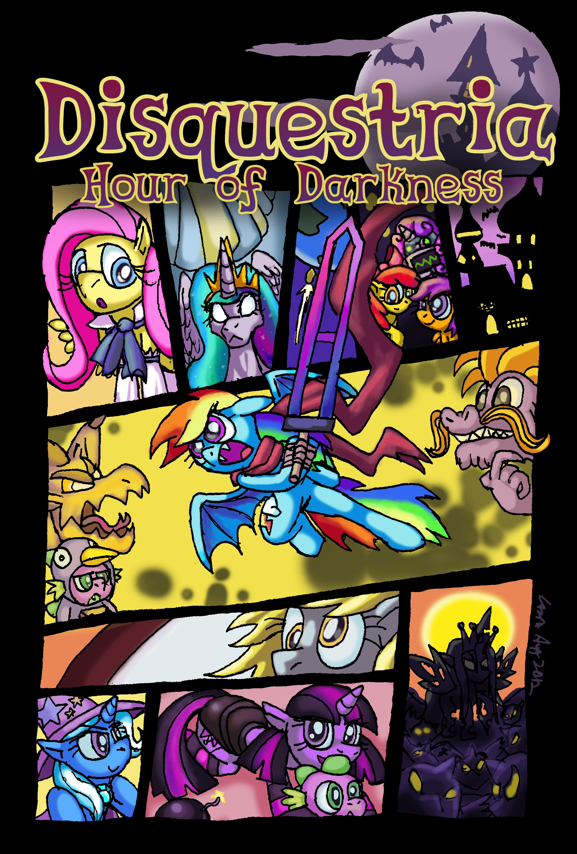 Disquestria: Hour of Darkness by Cazra