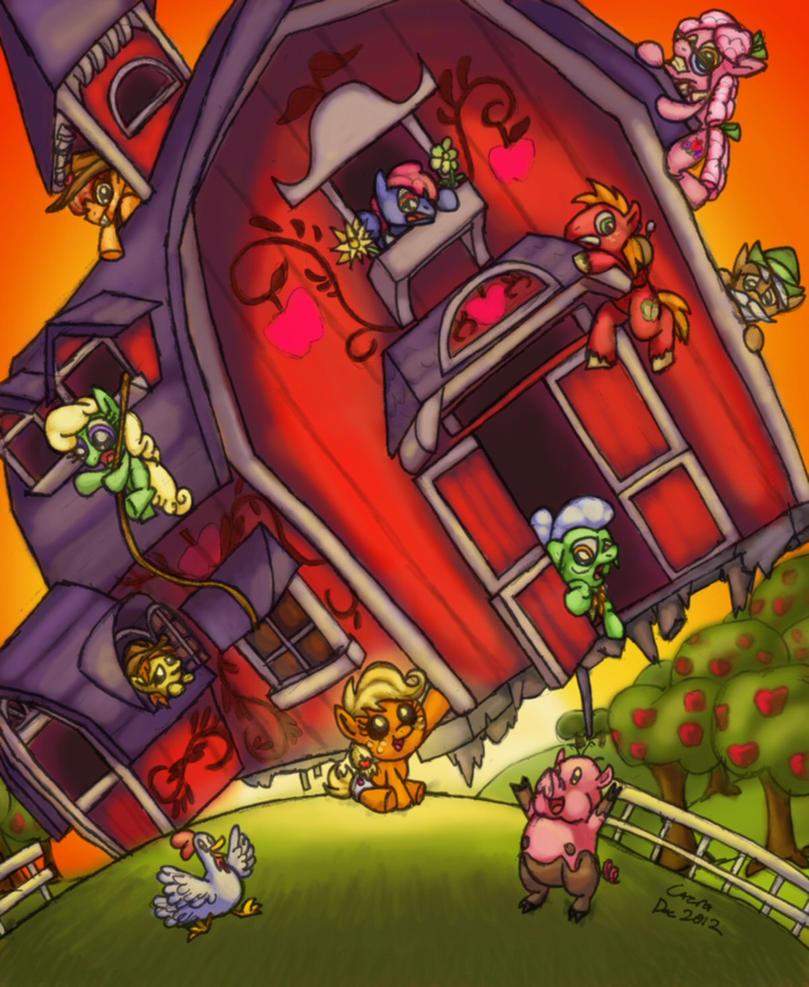 Waize Dis Barn! by Cazra