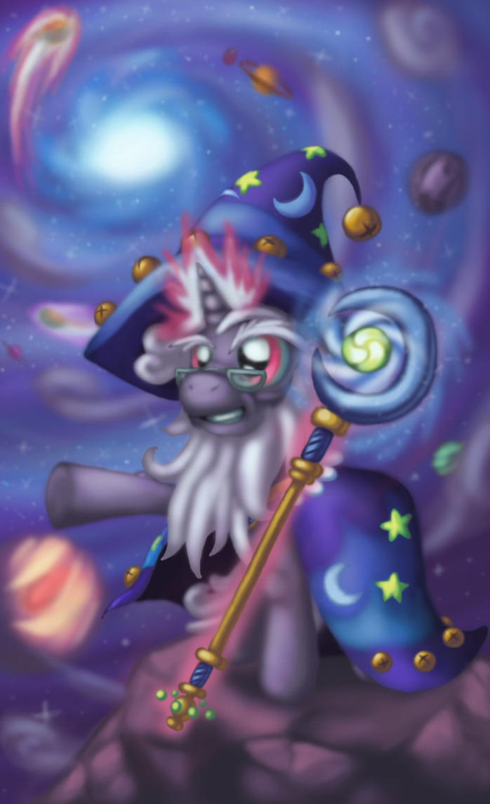Starswirl the Bearded - ~Astromancy~ by Cazra