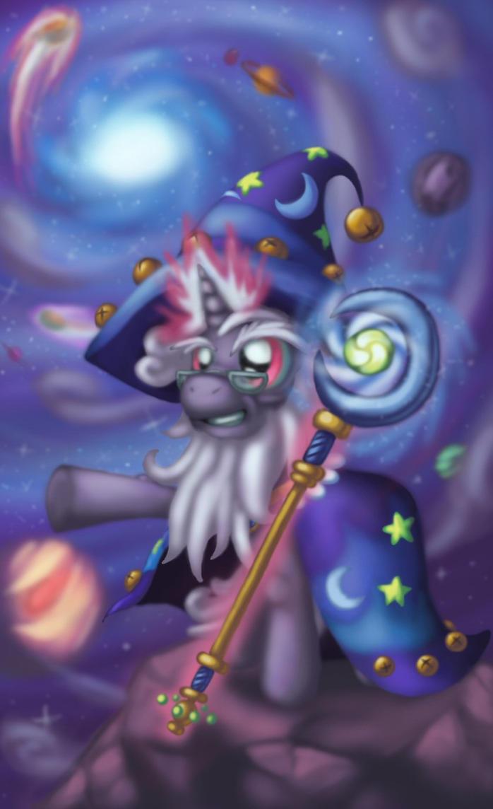 Starswirl the Bearded - ~Astromancy~ by Cazra