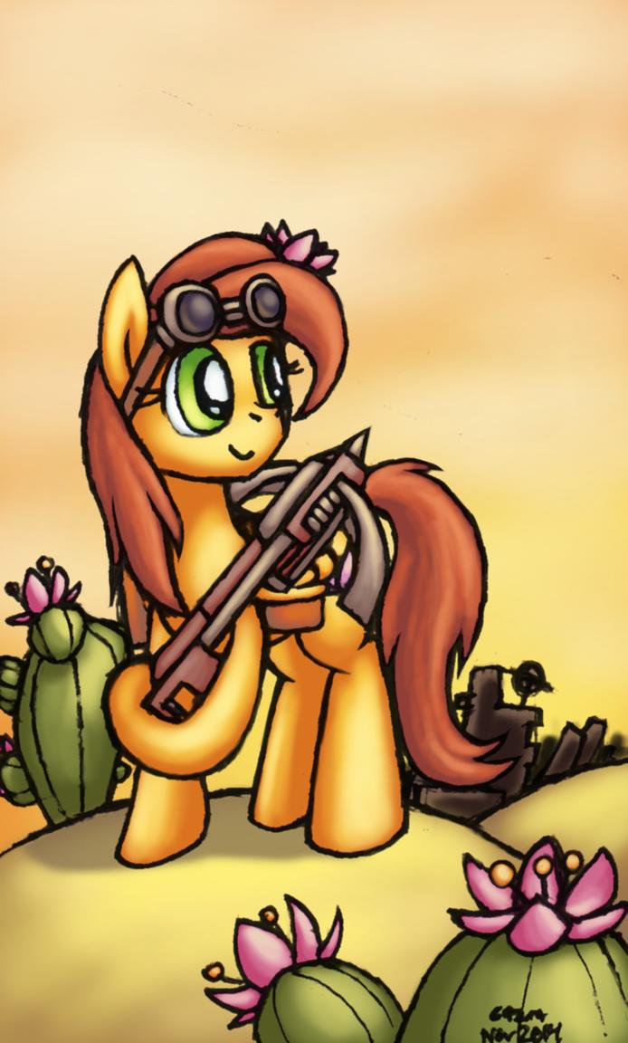 Floral Blossom - Fallout Equestria by Cazra