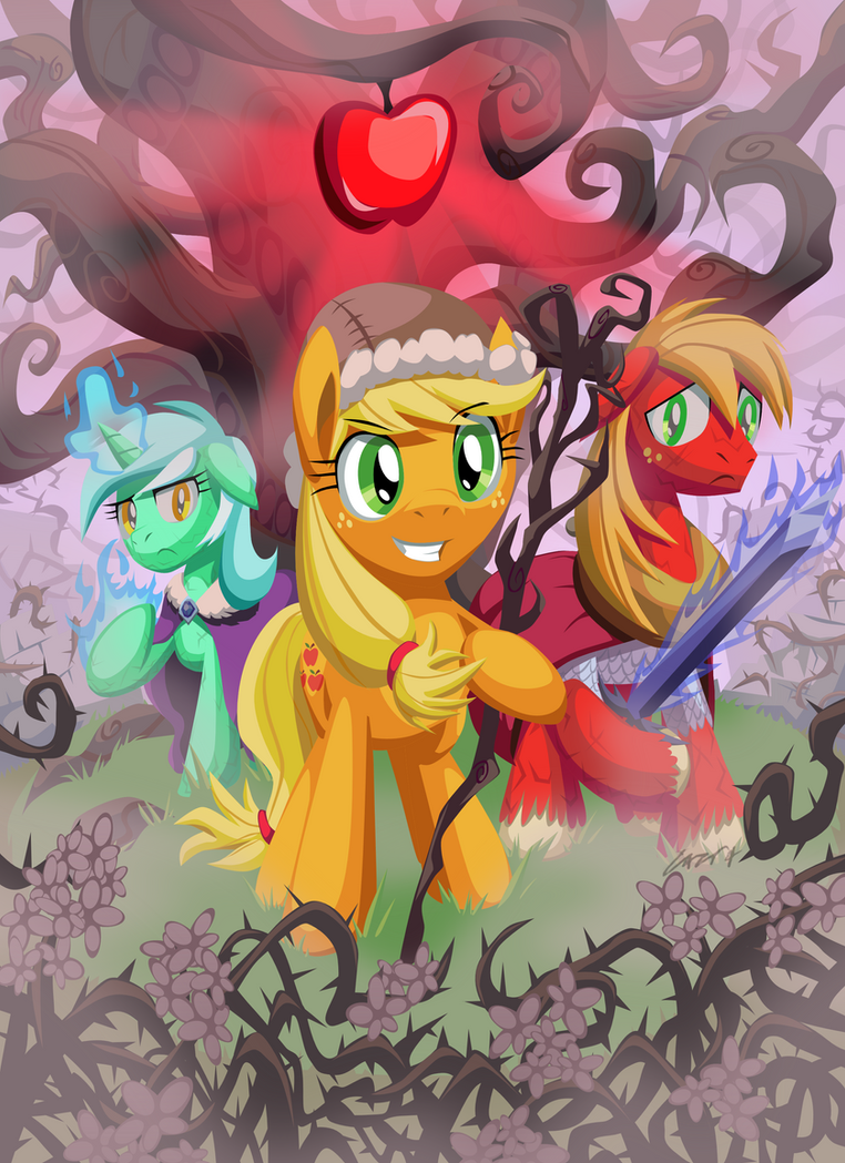 The Sunless Orchard by Cazra