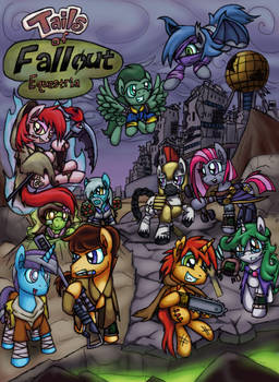 Tails Of Fallout Equestria cover by Cazra
