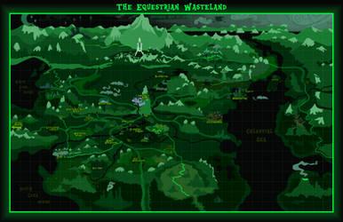 Fallout: Equestria map - Equestrian Wasteland