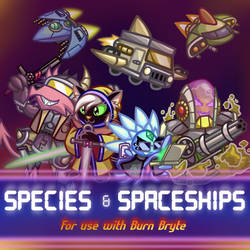 Roll20 Art Pack - Species and Spaceships