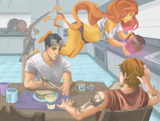 Breakfast by YoruWish
