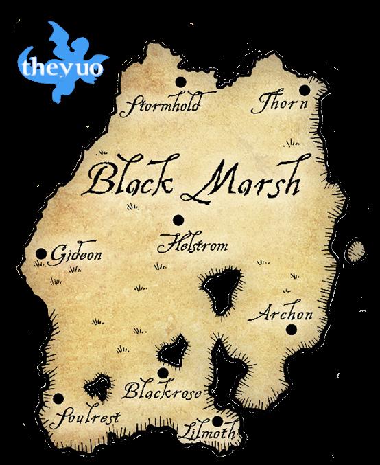 Black Marsh Render by TheYUO
