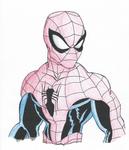 Spiderman- Shading Pratice #2