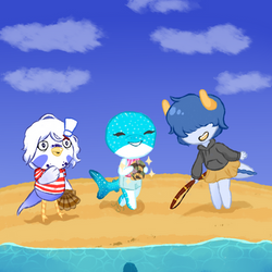 [CC] Spring Shell Collecting by TheYUO