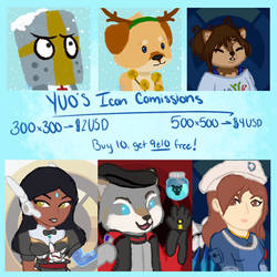 Icon Commission: Opened by TheYUO