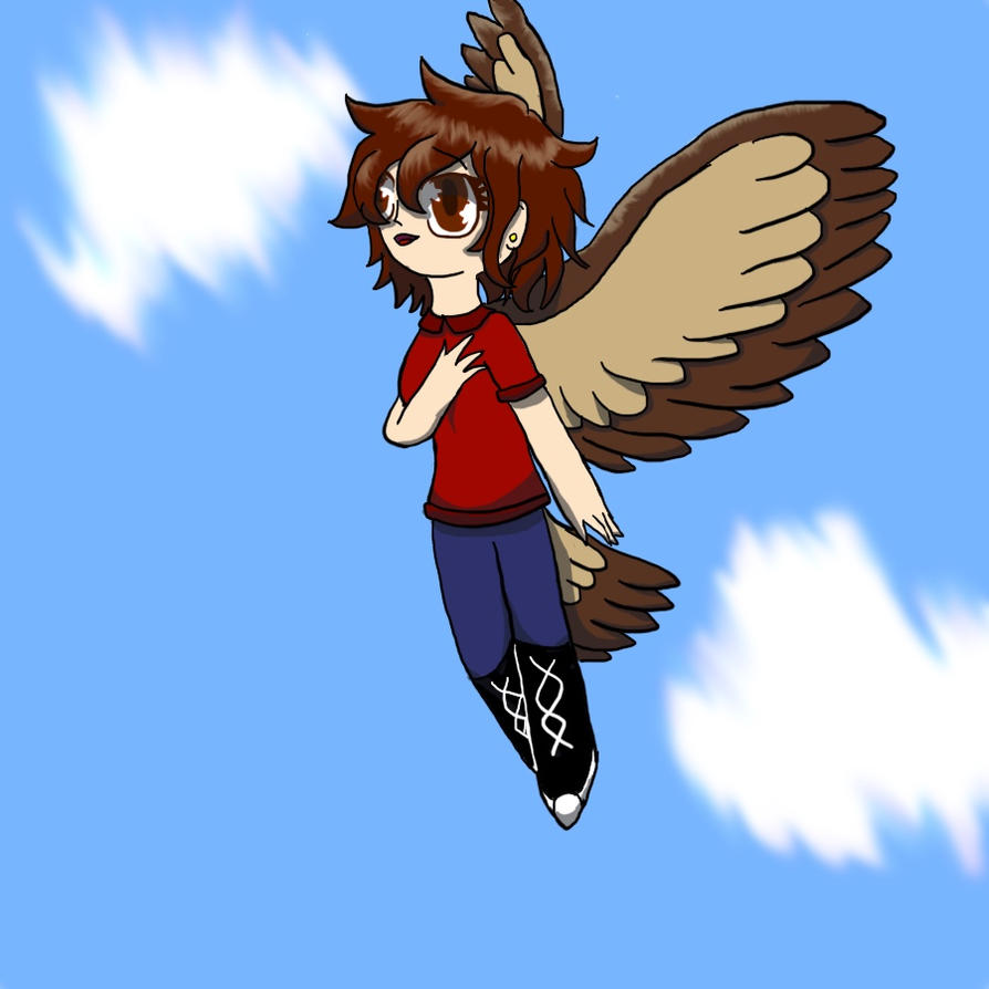 Hawk Girl Finished by KittyCake2004