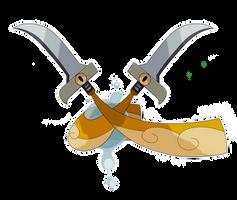 Fakemon: Doublade Regional Variant