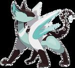 Fakemon: Gryphrost, the Griffin Pokemon