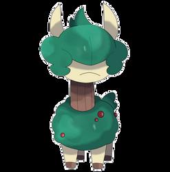 Fakemon Starter: Alpeko, the Alpaca Pokemon