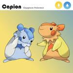 Fakemon: Capion, the Capybara Pokemon