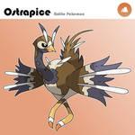 Fakemon: Ostrapice, the Ostrich Pokemon